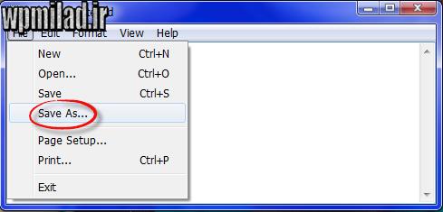 آموزش نحوه ایجاد فایل CSS در نرم افزار Notepad ویندوز