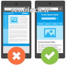 پیکربندی وب سایت تلفن همراه