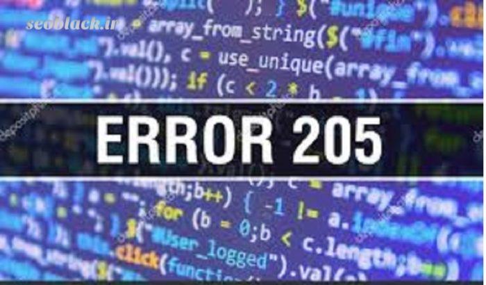 کد 205 http