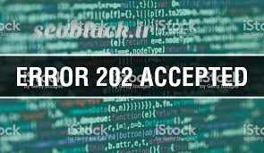 خطای 202 http