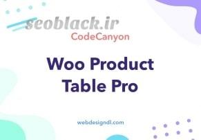 افزونه WooCommerce Product Table Lite