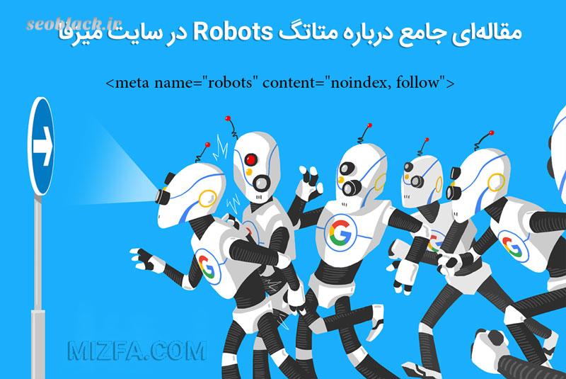متاتگ کابردی robots