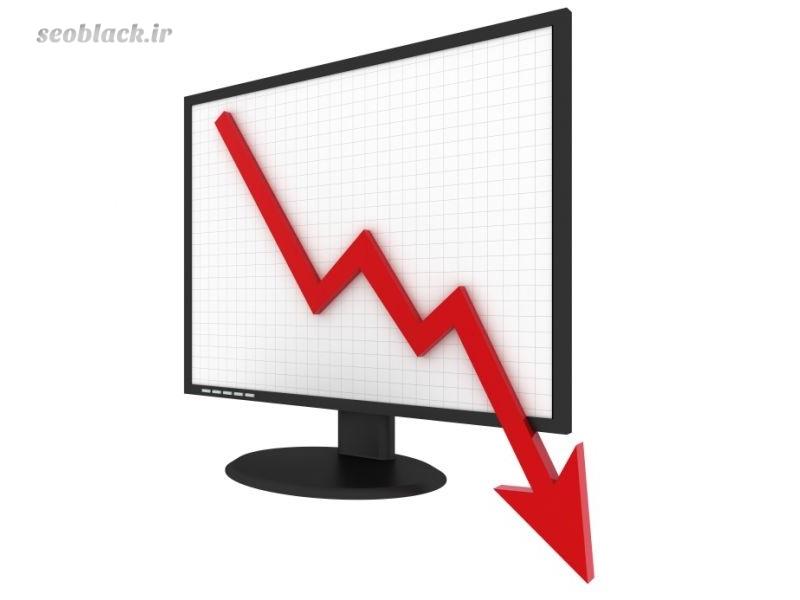 کاهش رنک سایت